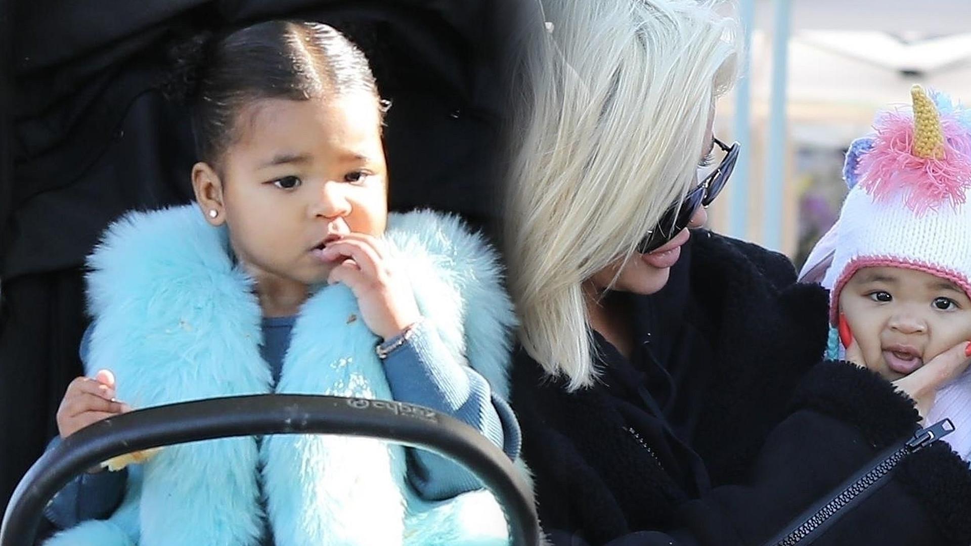 WOW! Khloe Kardashian pokazała, jak wyglądają WŁOSY jej córki po rozpuszczeniu