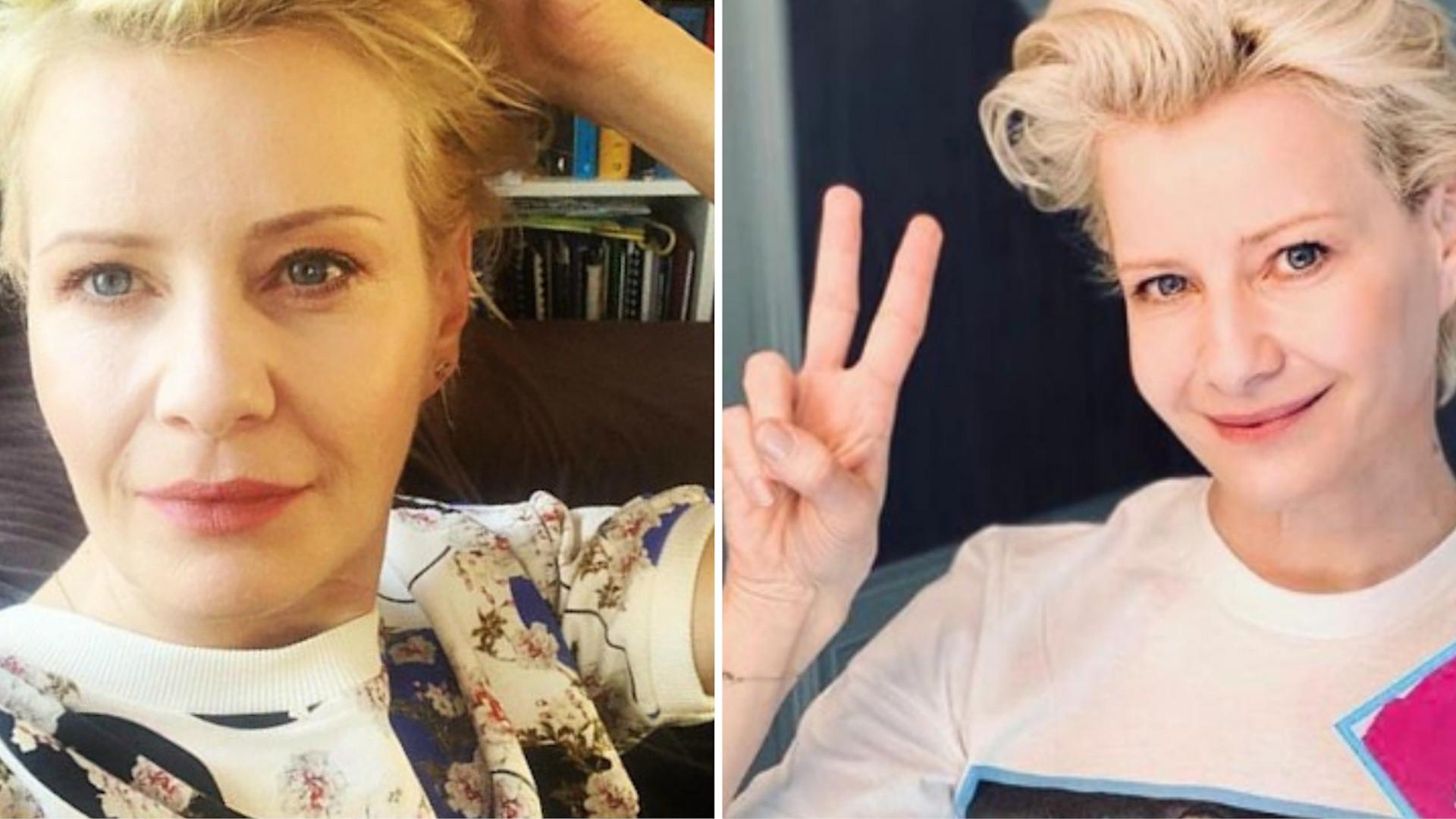Małgorzata Kożuchowska zaskoczyła. Pokazała się w ZIELONYCH włosach