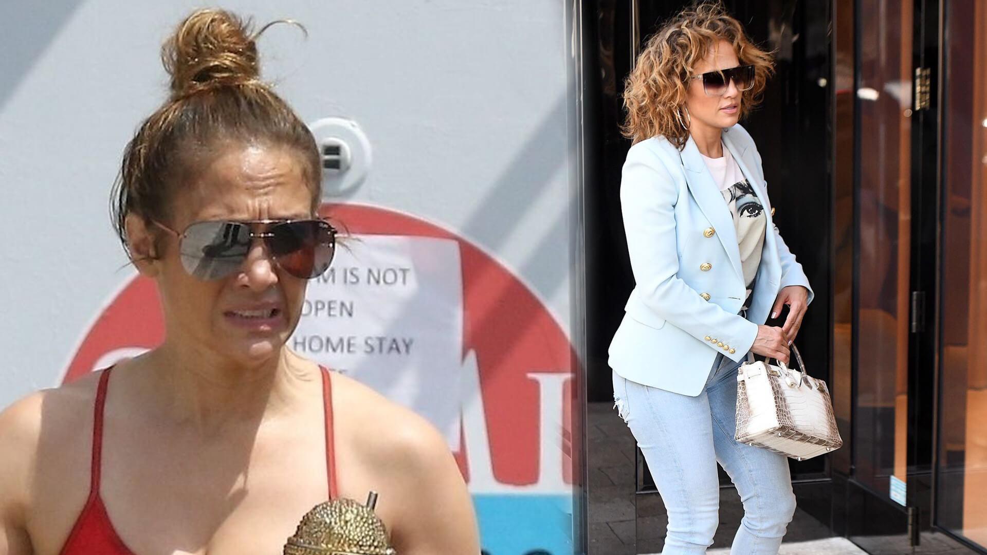 Jennifer Lopez z powodu pandemii koronawirusa nie może wziąć długo planowanego ślubu