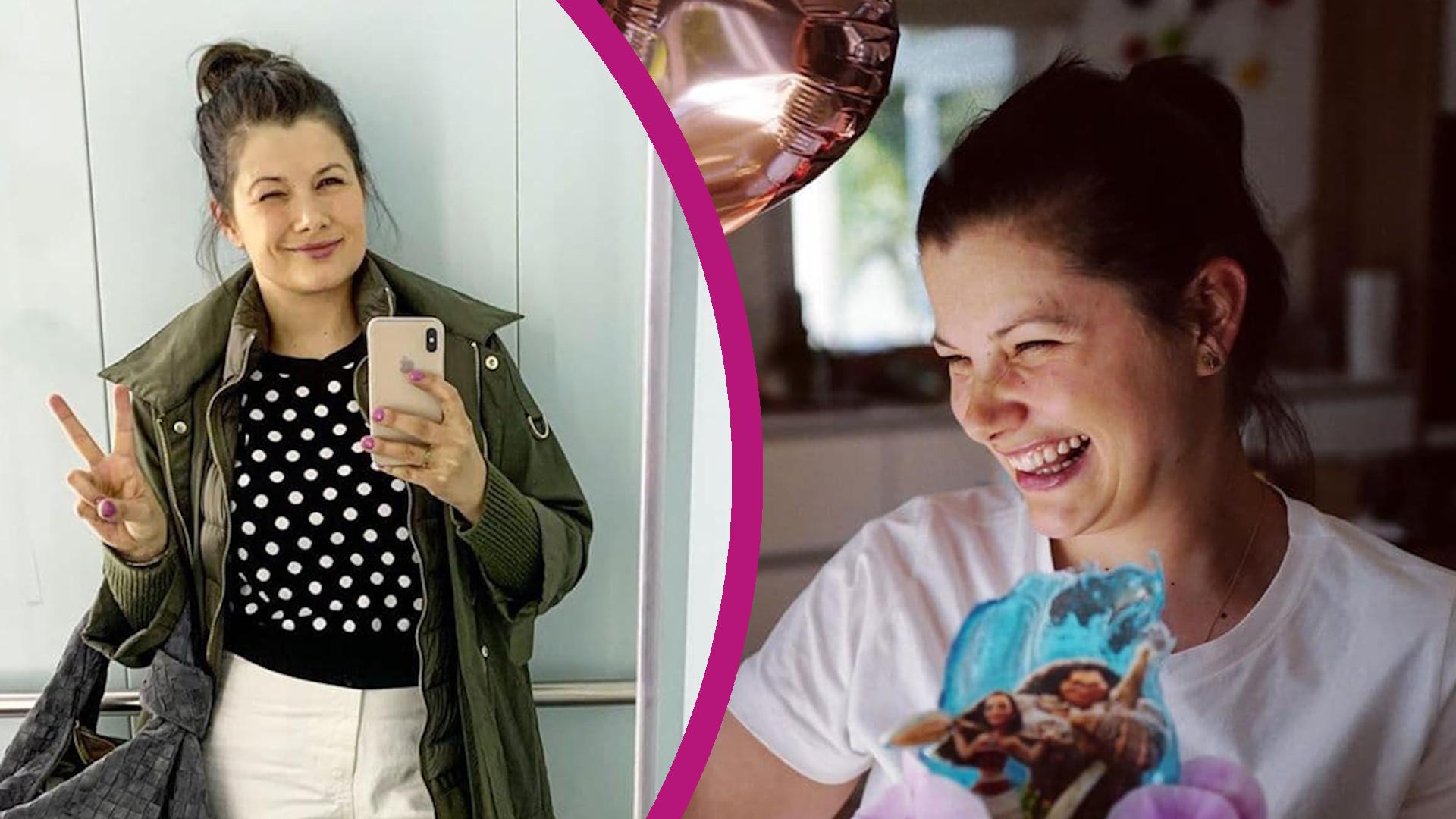 """Agnieszka Sienkiewicz zrobiła tort dla córki. """"Mam jeszcze czas się nauczyć"""""""