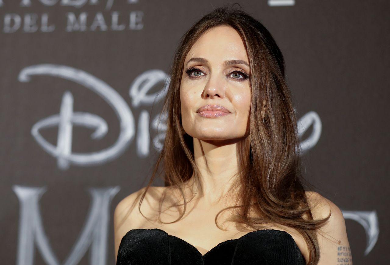 Angelina Jolie na premierze filmu