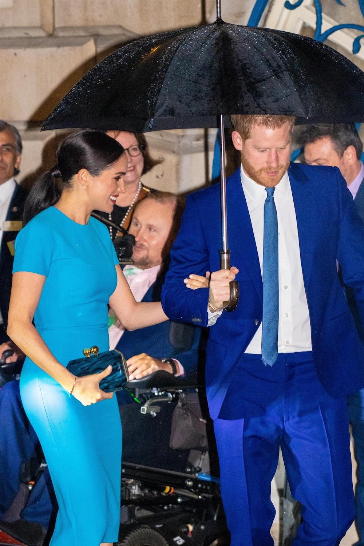 Meghan Markle i Książę Harry w Wielkiej Brytanii pierwszy raz po megxicie.