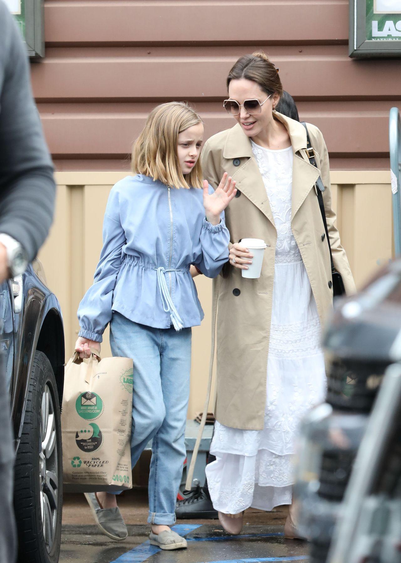 Angelina Jolie z córką Vivienne