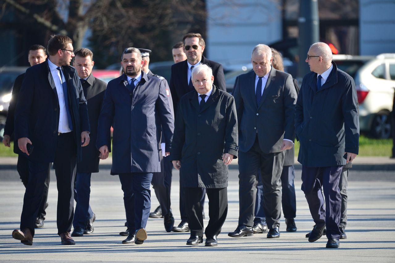 Rocznica katastrofy smolenskiej na Placu Pilsudskiego
