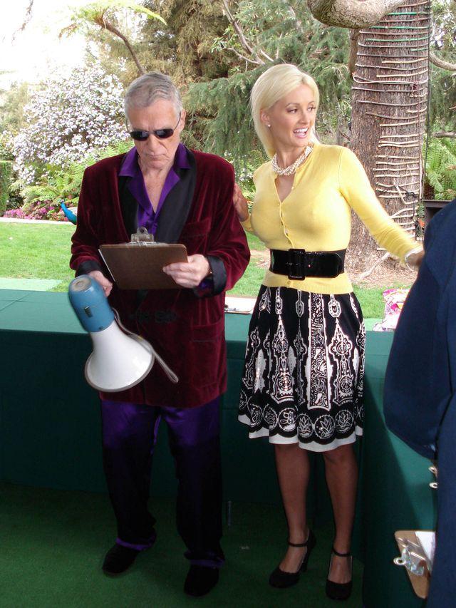 Hugh Hefner i Holly Madison