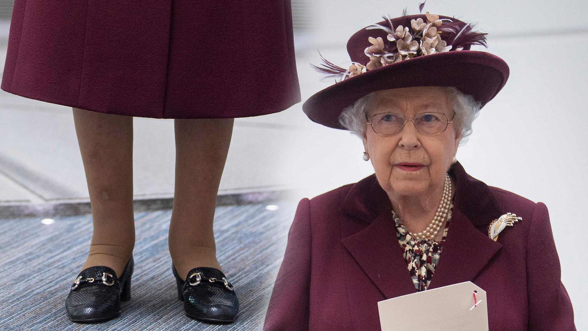 Królowa Elżbieta ma nietypowy sposób na to, by nowe buty jej nie obtarły