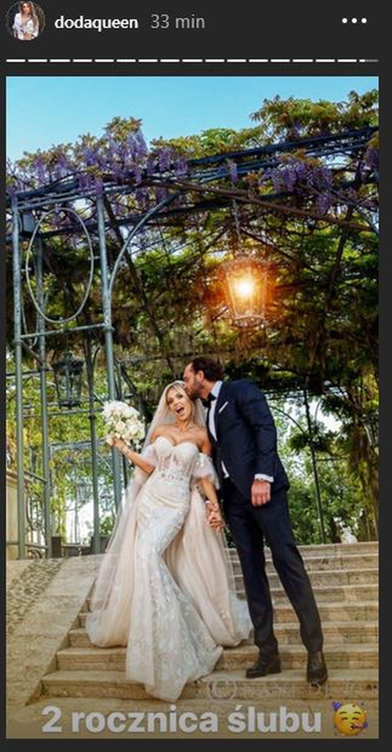 Doda i Emil Stępień obchodzą drugą rocznicę ślubu