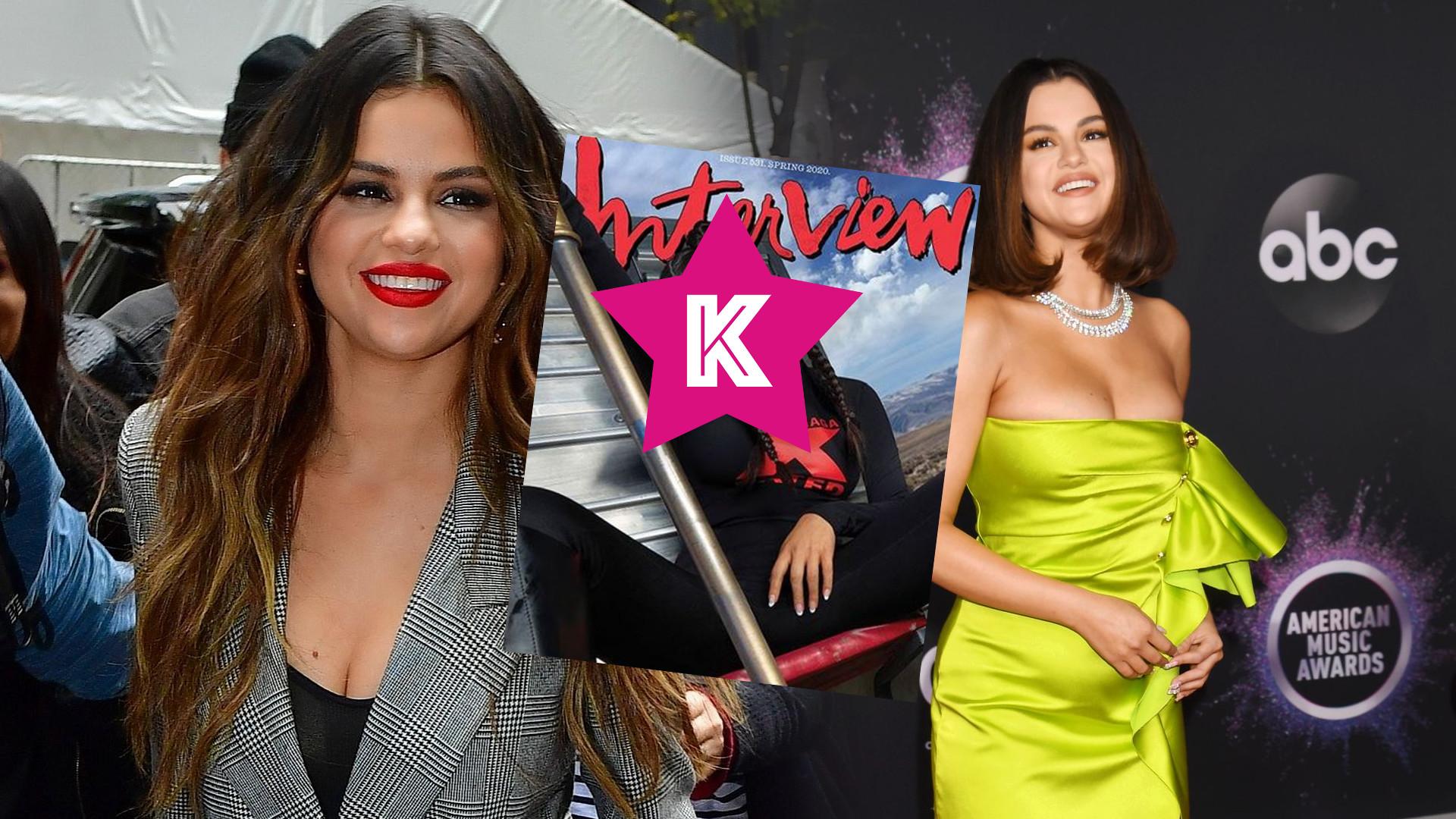 Całkowicie odmieniona Selena Gomez na okładce magazynu. Ciężko poznać, że to w ogóle ONA