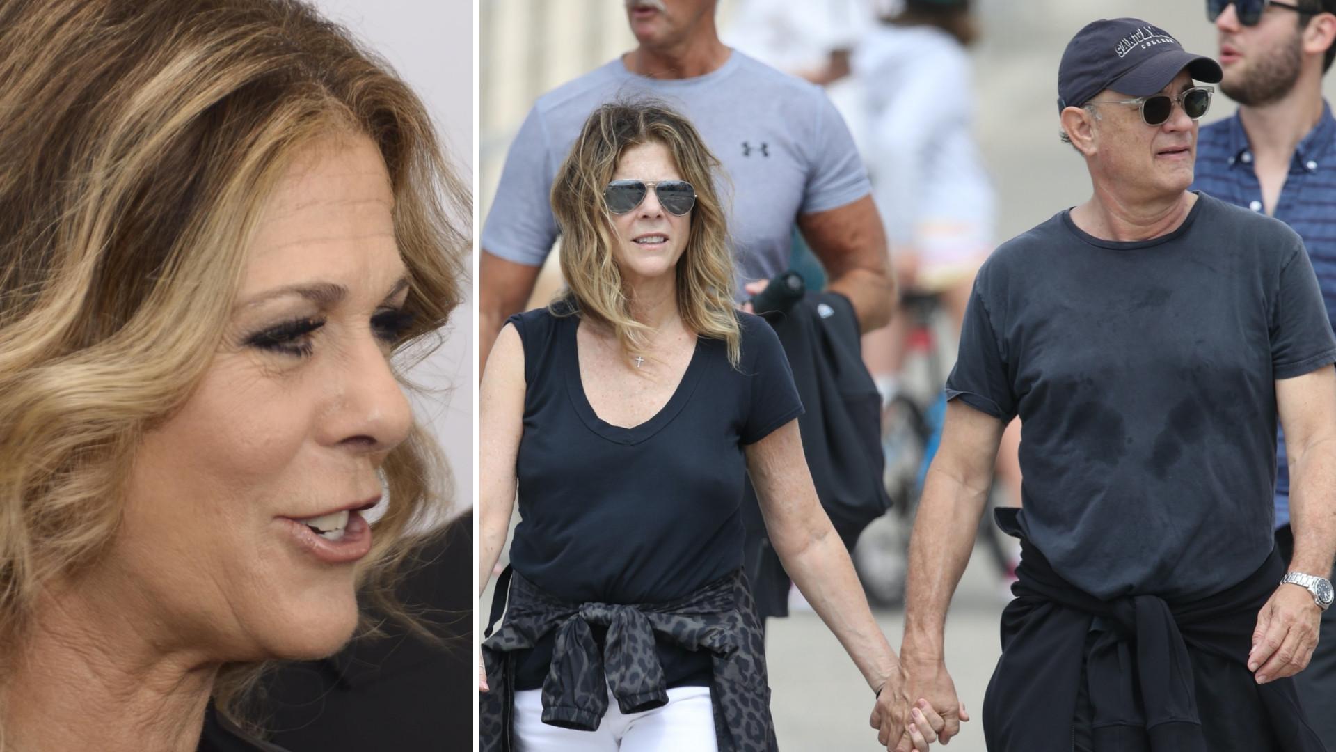 Żona Toma Hanksa, Rita Wilson, opowiedziała o efektach ubocznych terapii na Covid-19