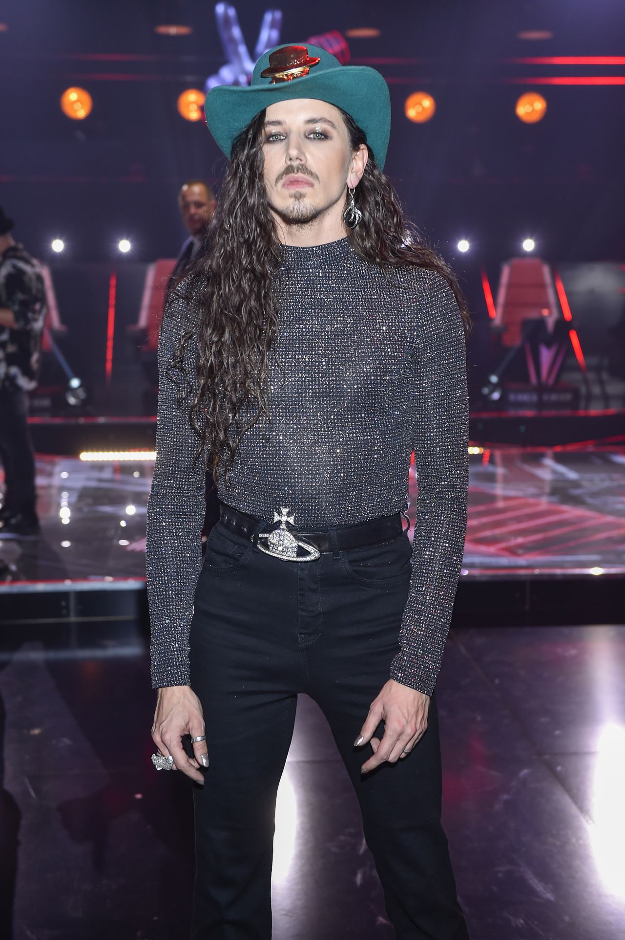 "Michał Szpak w ""The Voice of Polan"""