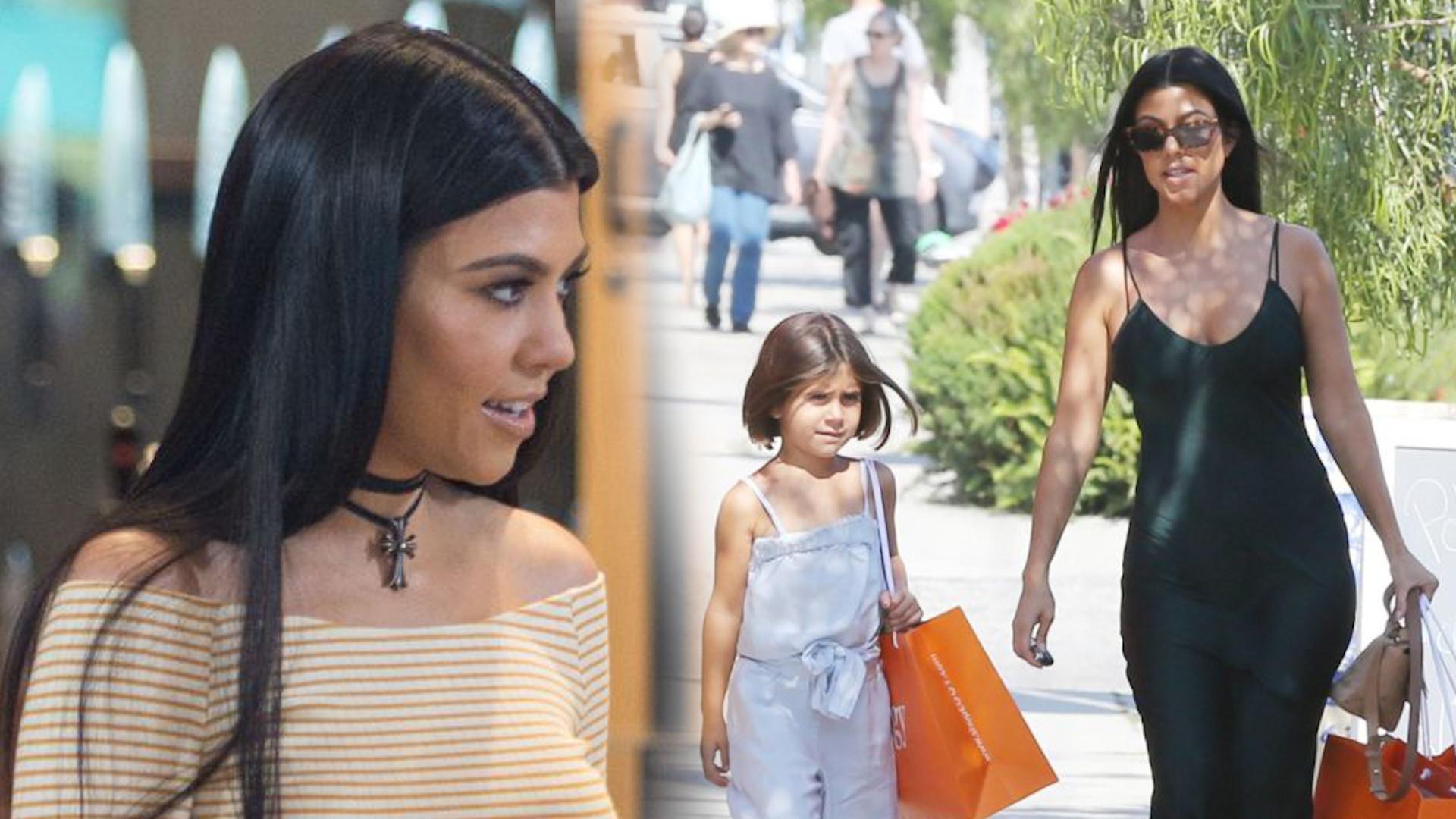 Kourtney Kardashian poczuła się urażona, bo powiedzieli jej, że wygląda, jakby była w CIĄŻY