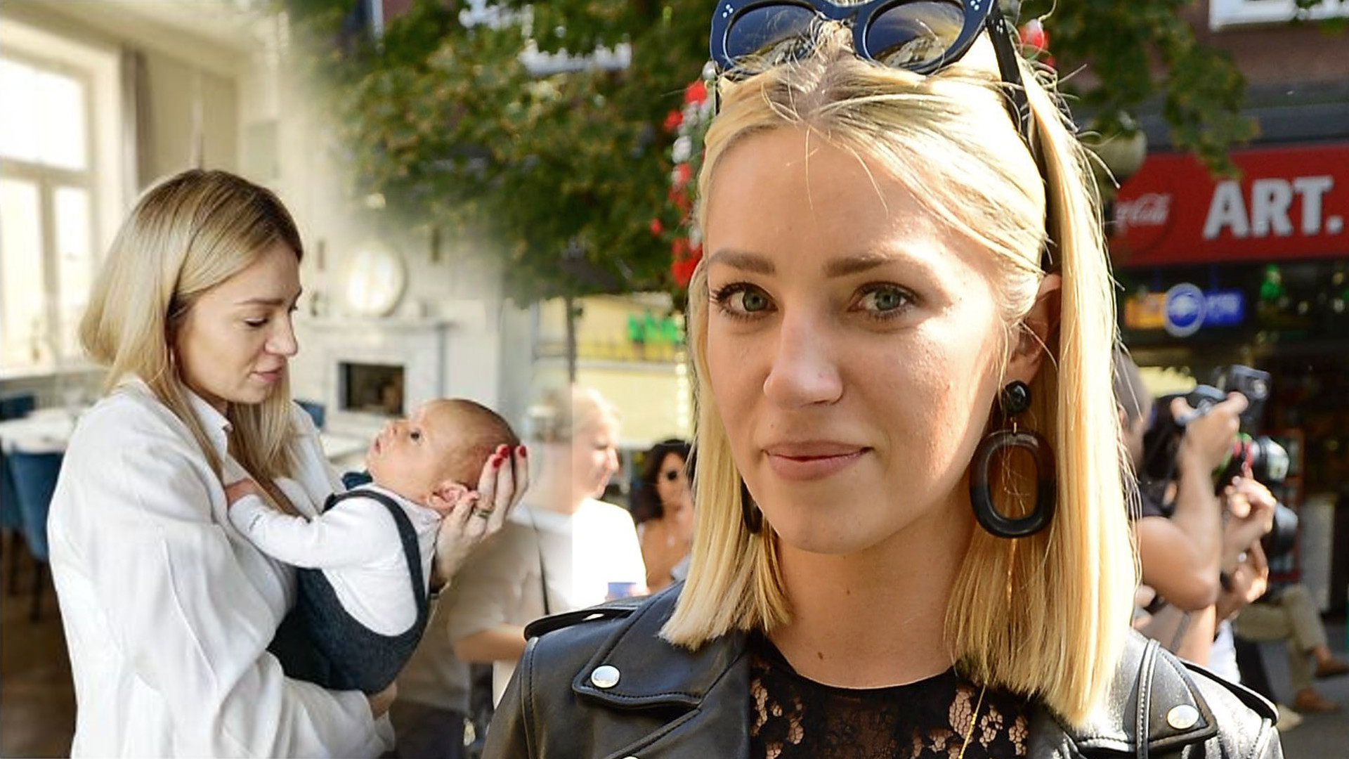 Martyna Gliwińska opowiada o porodzie – szpital był publiczny, a Kazik urodził się przez cesarskie cięcie