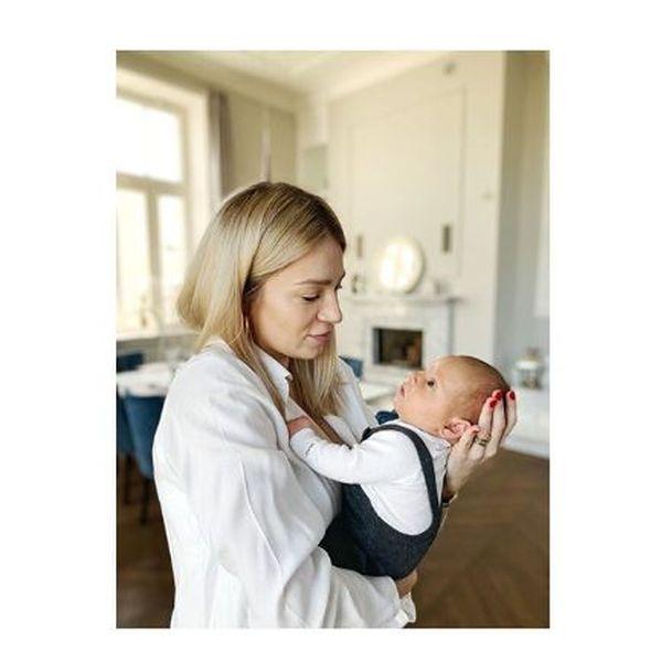 Martyna Gliwińska z synem, źrodło: Instagram celebrytki