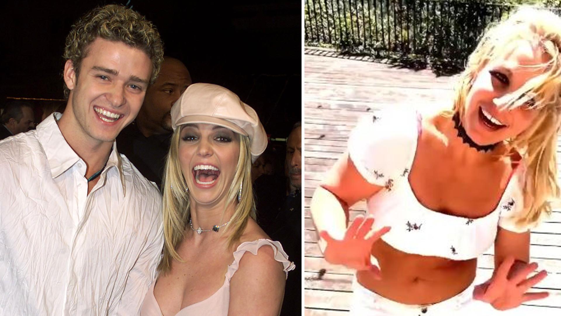 Fani OSZALELI! Justin Timberlake KOMENTUJE taniec Britney Spears