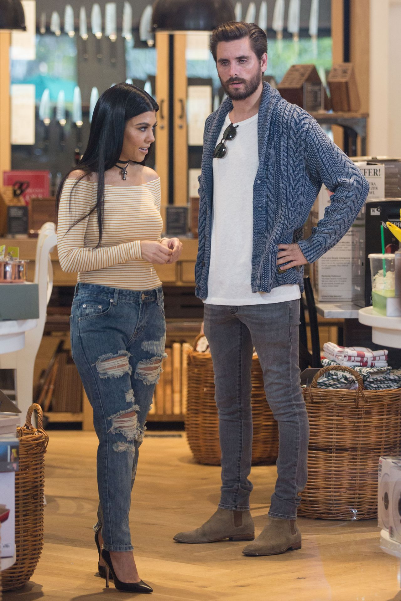 Kourtney Kardashian i Scott Disick