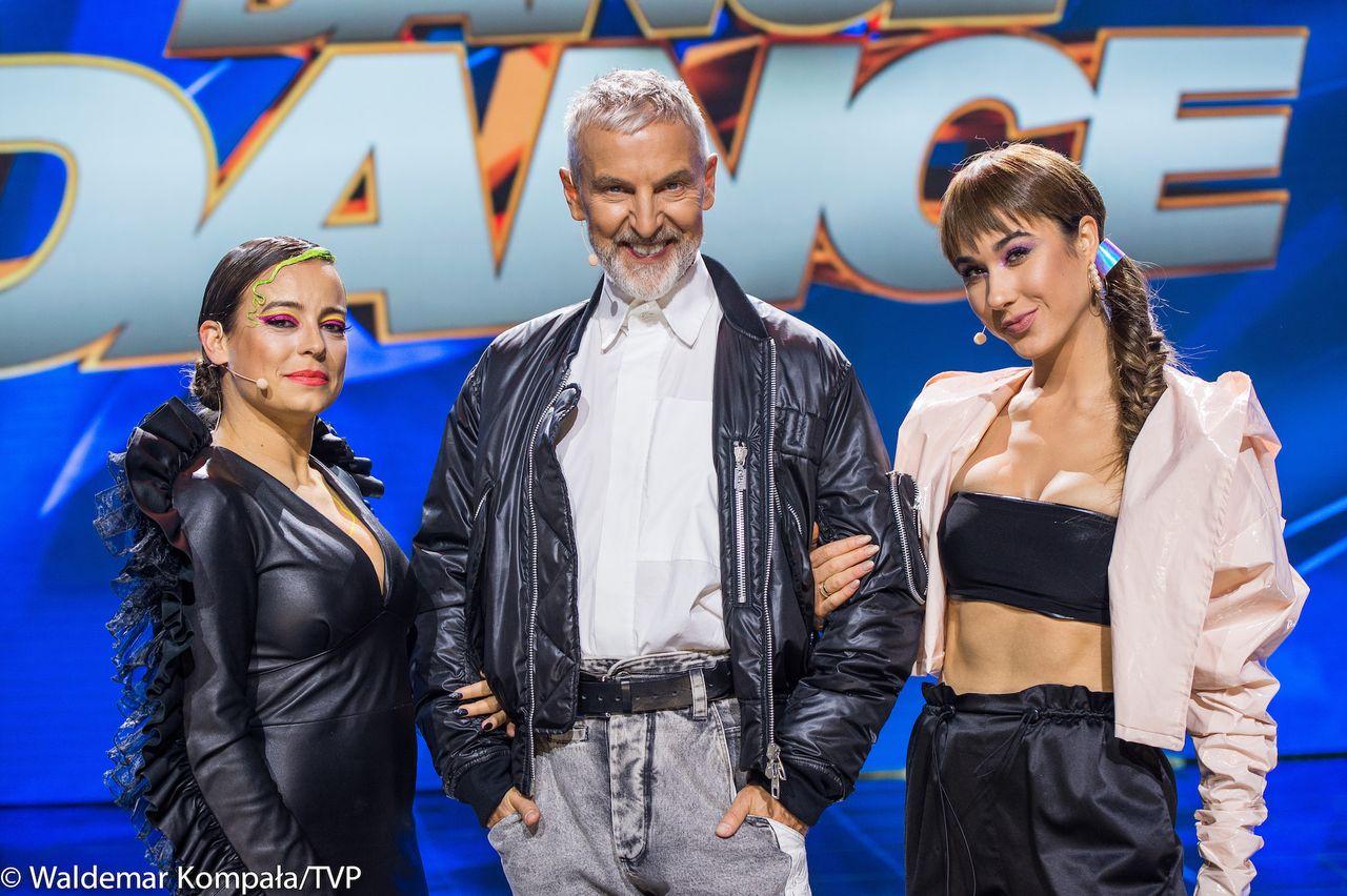 Anna Mucha, Robert Kupisz, Ida Nowakowska - jurorzy Dance Dance Dance