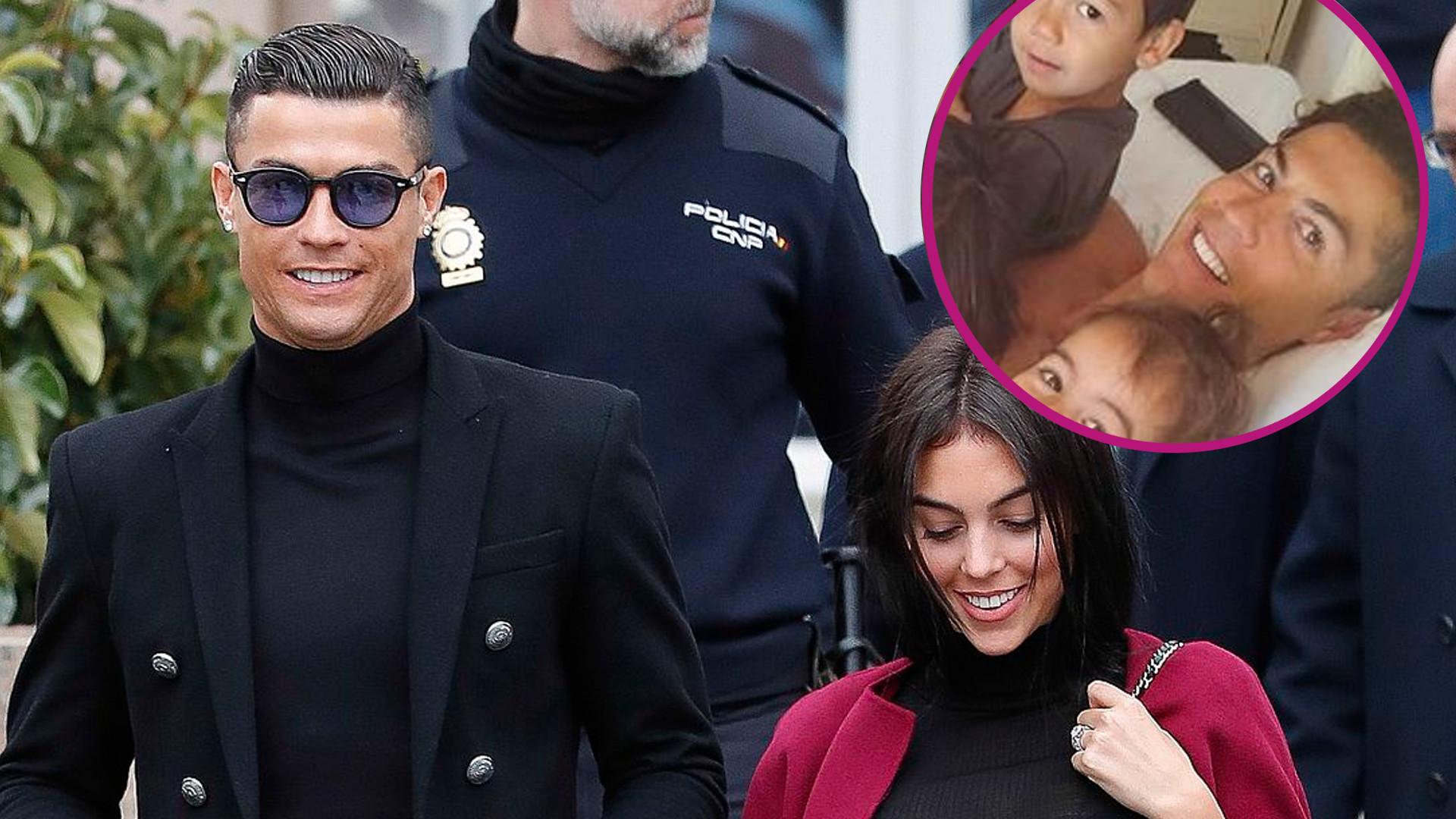 Cristiano Ronaldo dodał zdjęcie z rodziną prosto z łóżka. Jakie jego dzieci są już DUŻE!