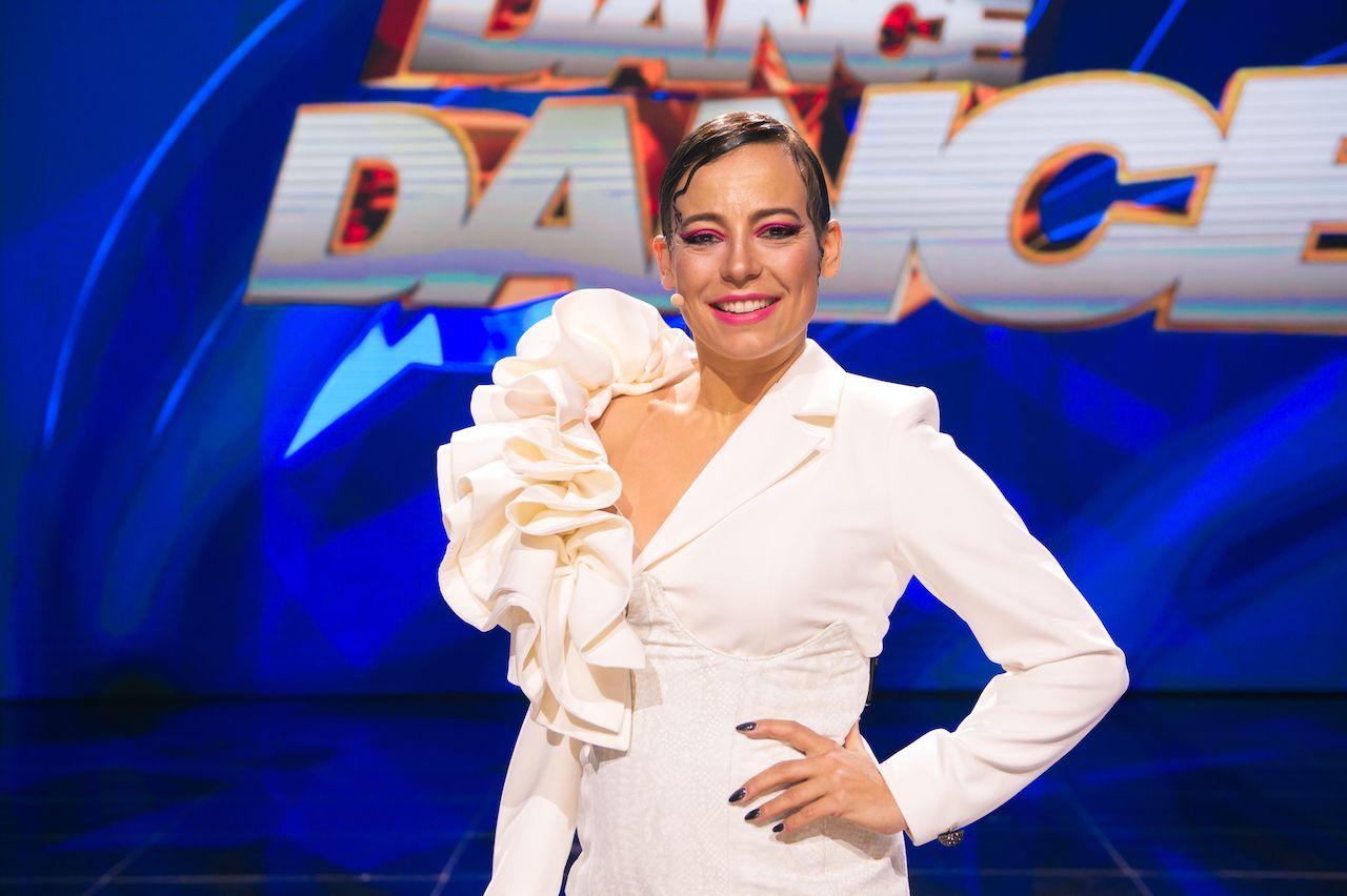 """Anna Mucha na scenie """"Dance Dance Dance"""""""