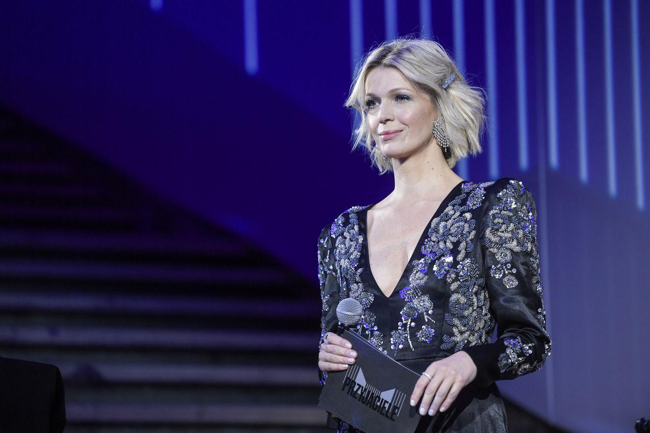 Magda Mołek na scenie