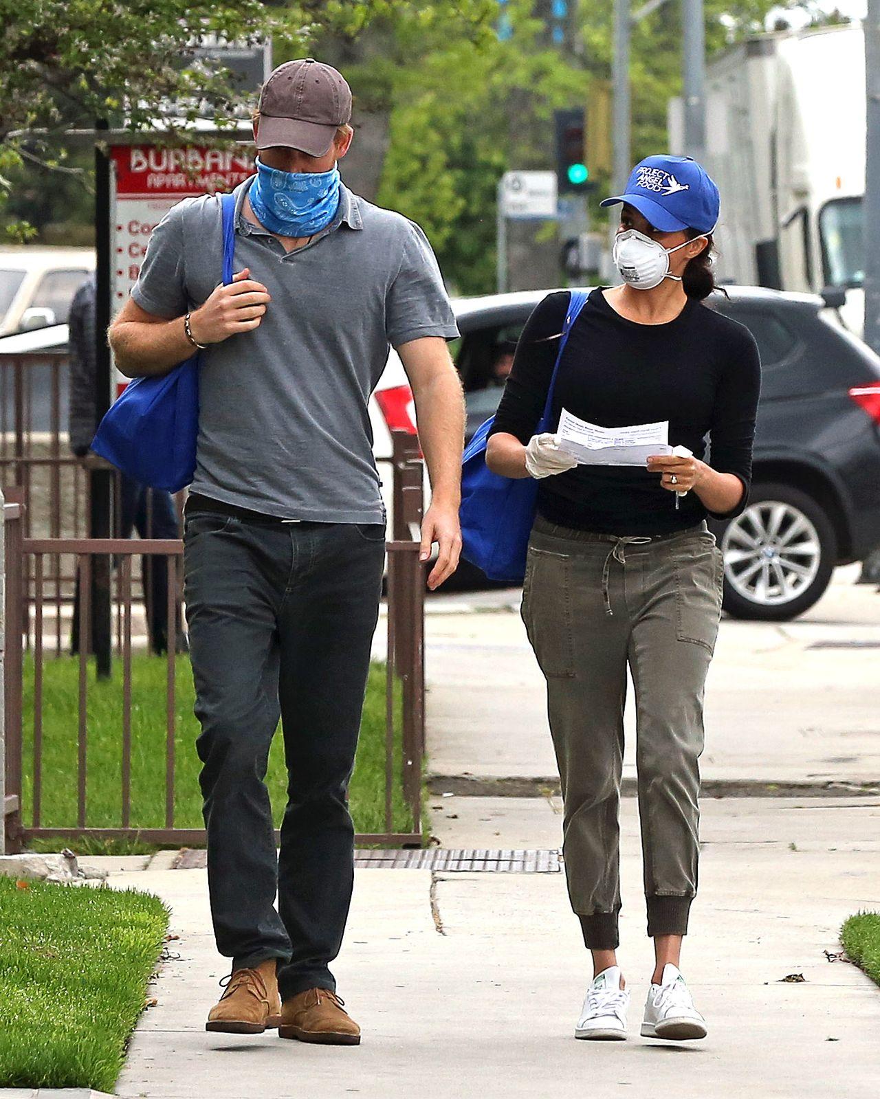 Meghan i Harry w LA