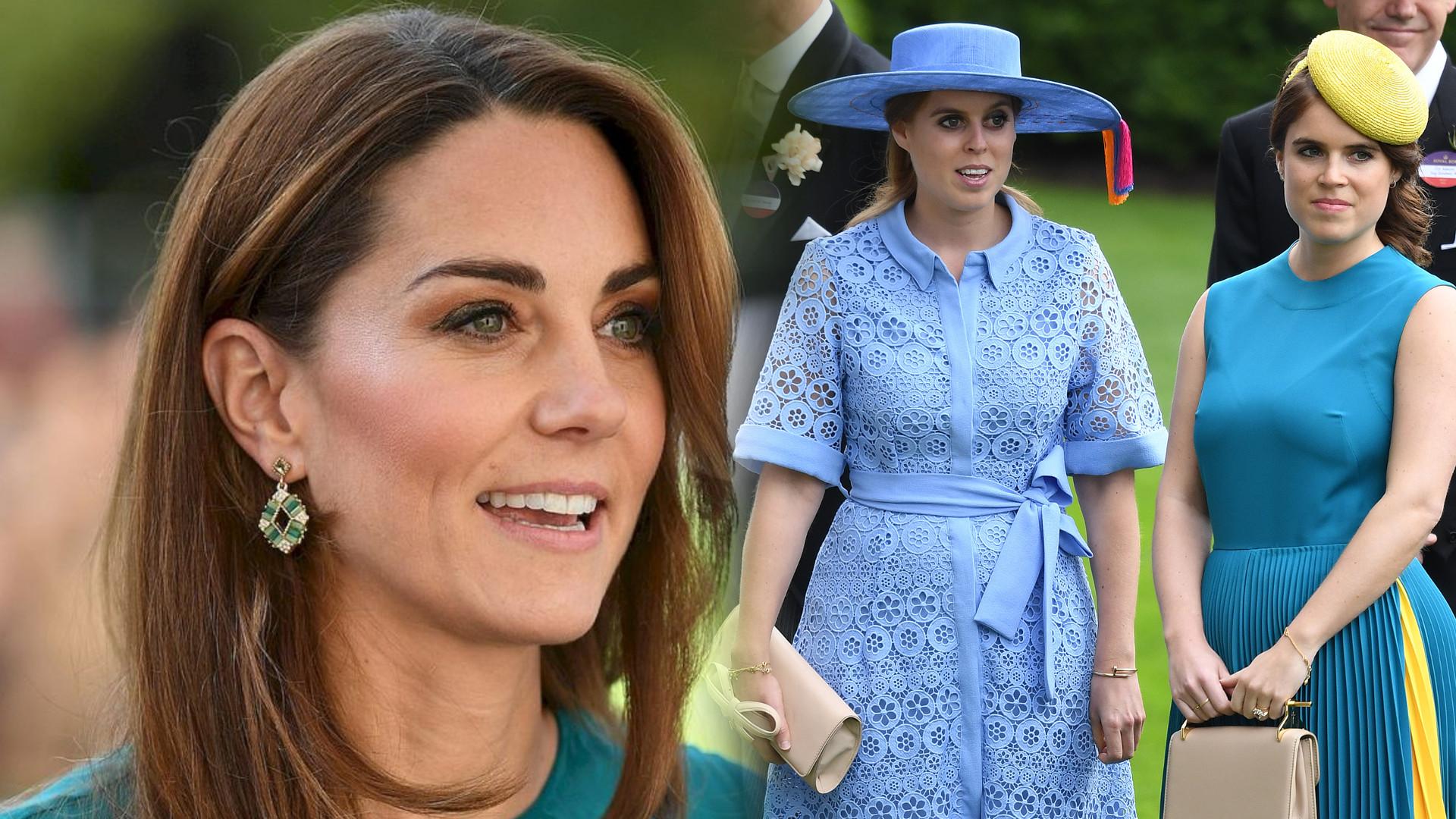 Księżna Kate wściekła się na księżniczki Beatrice i Eugenię – poszło o Williama