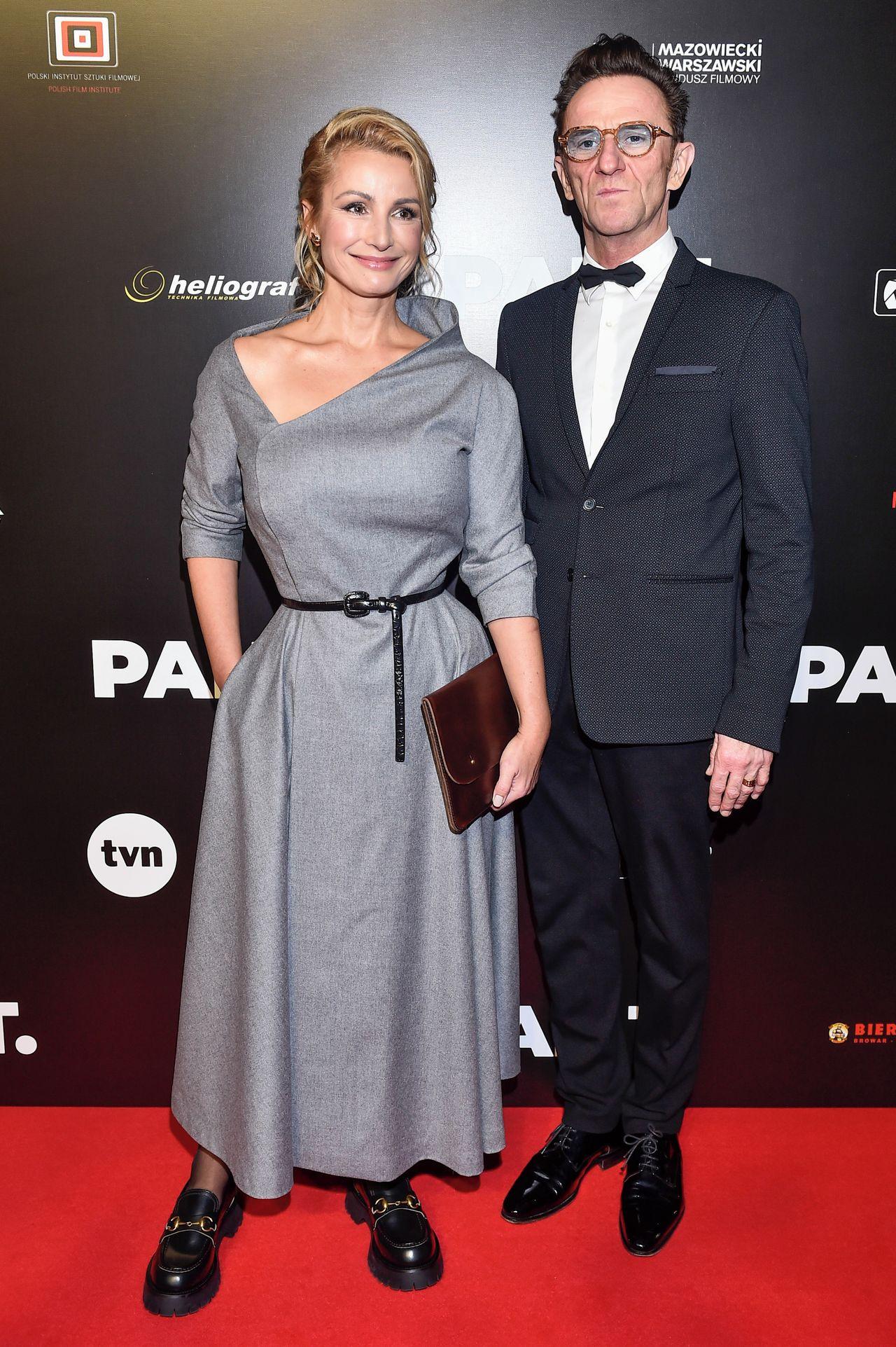 Joanna Brodzik, Paweł Wilczak. fot. Jacek Kurnikowski/AKPA