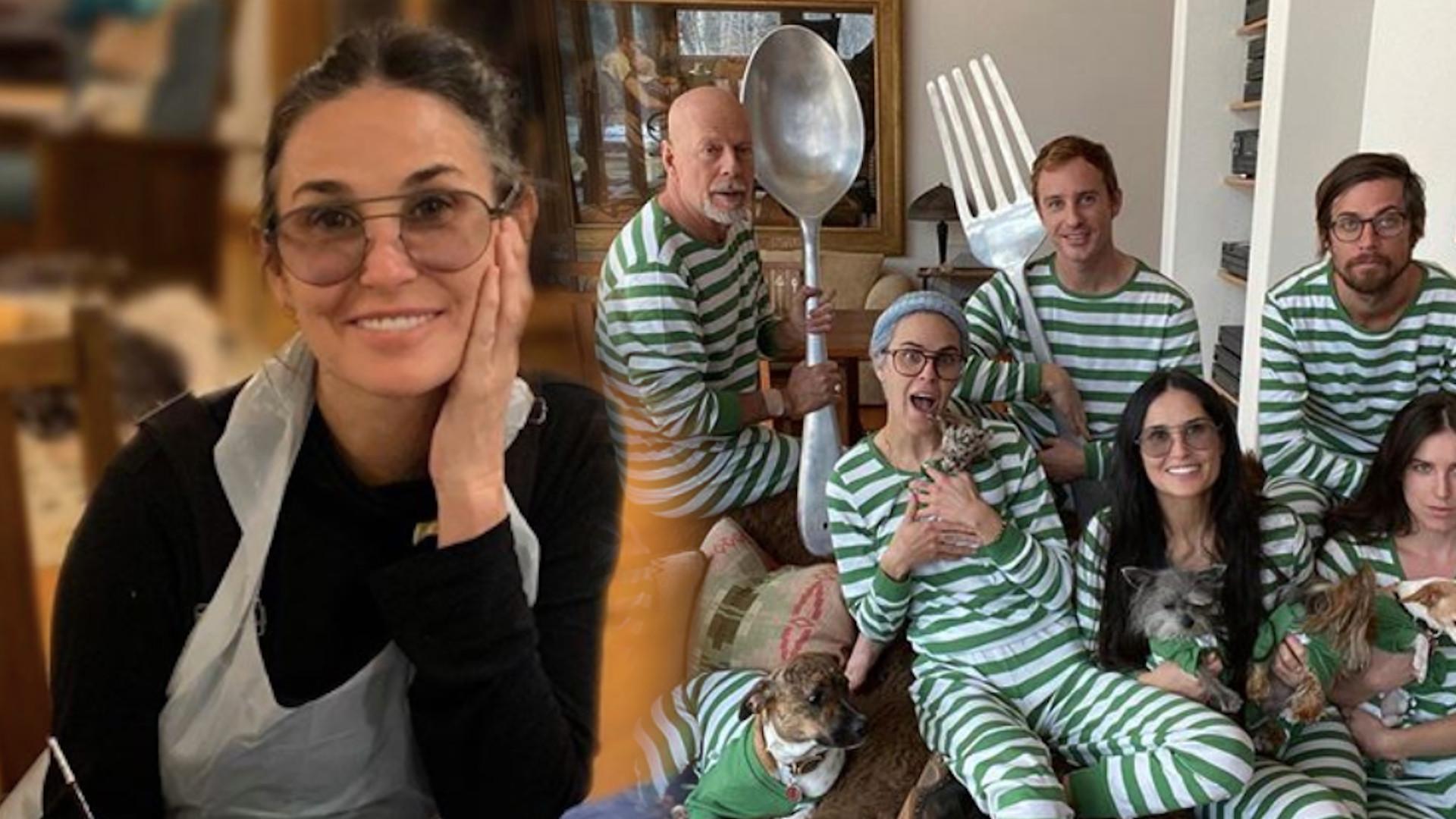 Córka Bruce'a Willisa i Demi Moore zdradziła, dlaczego tata nie izoluje się z żoną, tylko z EX
