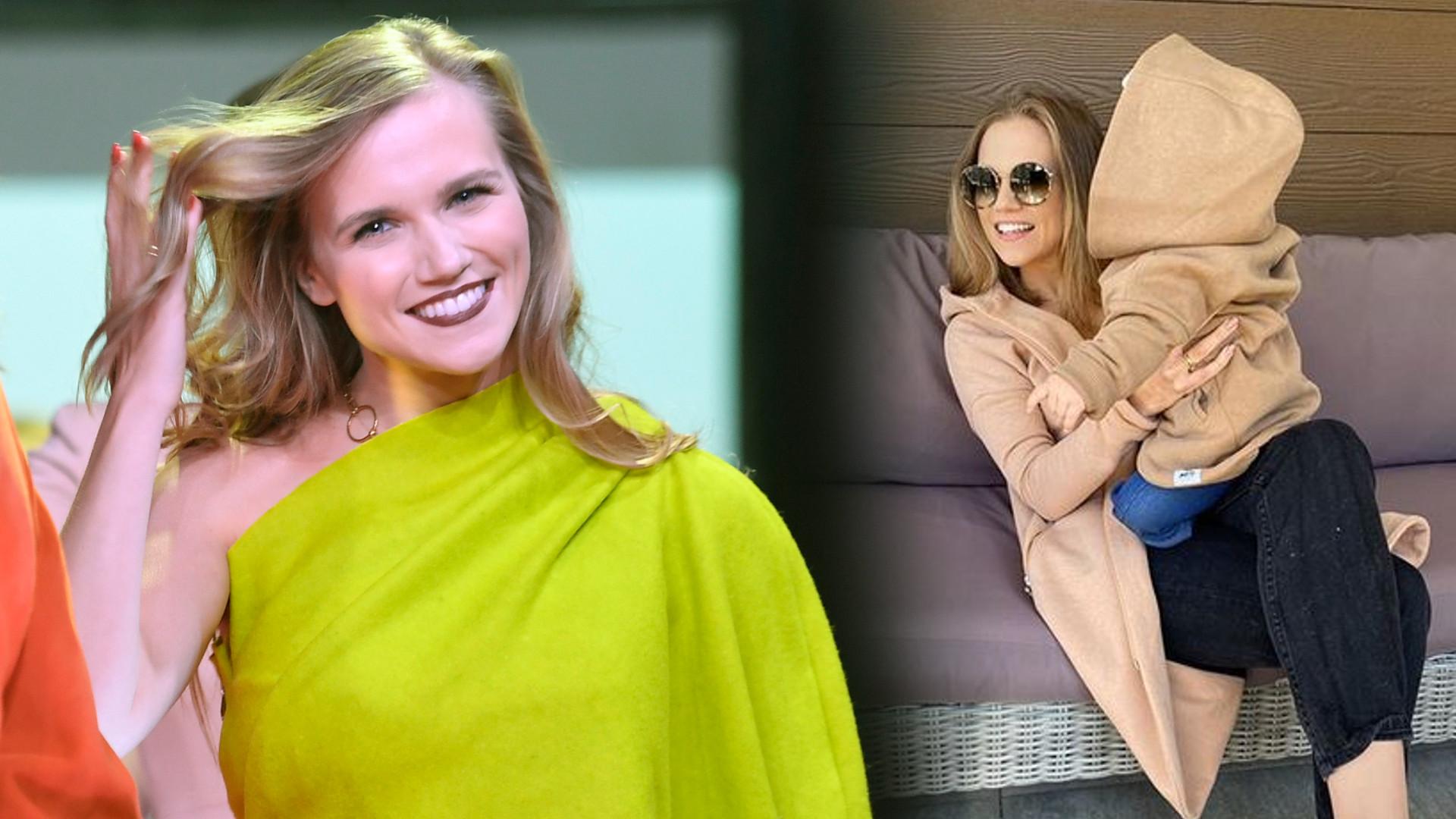 Agnieszka Kaczorowska pokazała, jak jej córka NABRUDZIŁA w domu podczas jedzenia