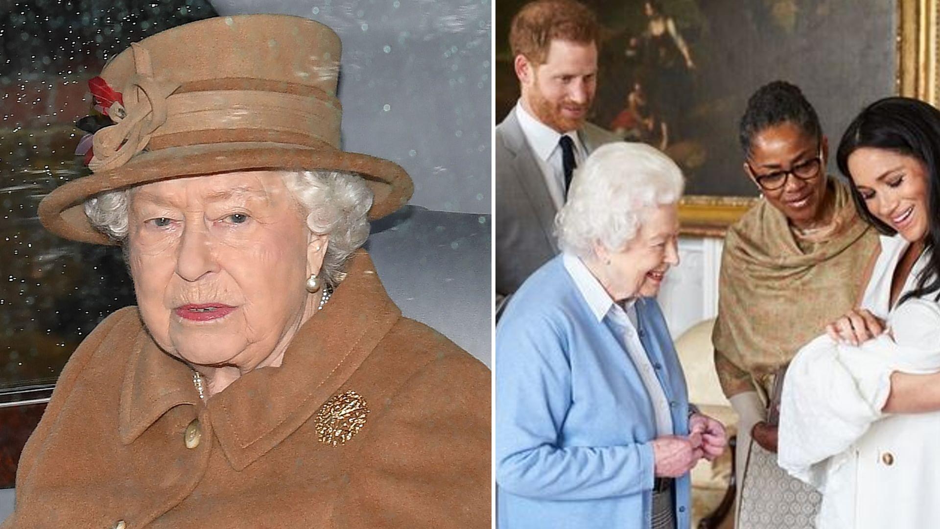 Dlaczego Meghan i Harry NIE złożyli życzeń królowej Elżbiecie na Instagramie?