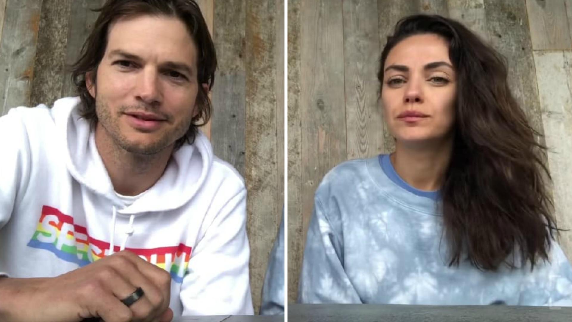 """Ashton Kutcher i Mila Kunis sprzedają """"Wino na Kwarantannę""""! Pieniędzy ze sprzedaży nie zachowają dla siebie"""