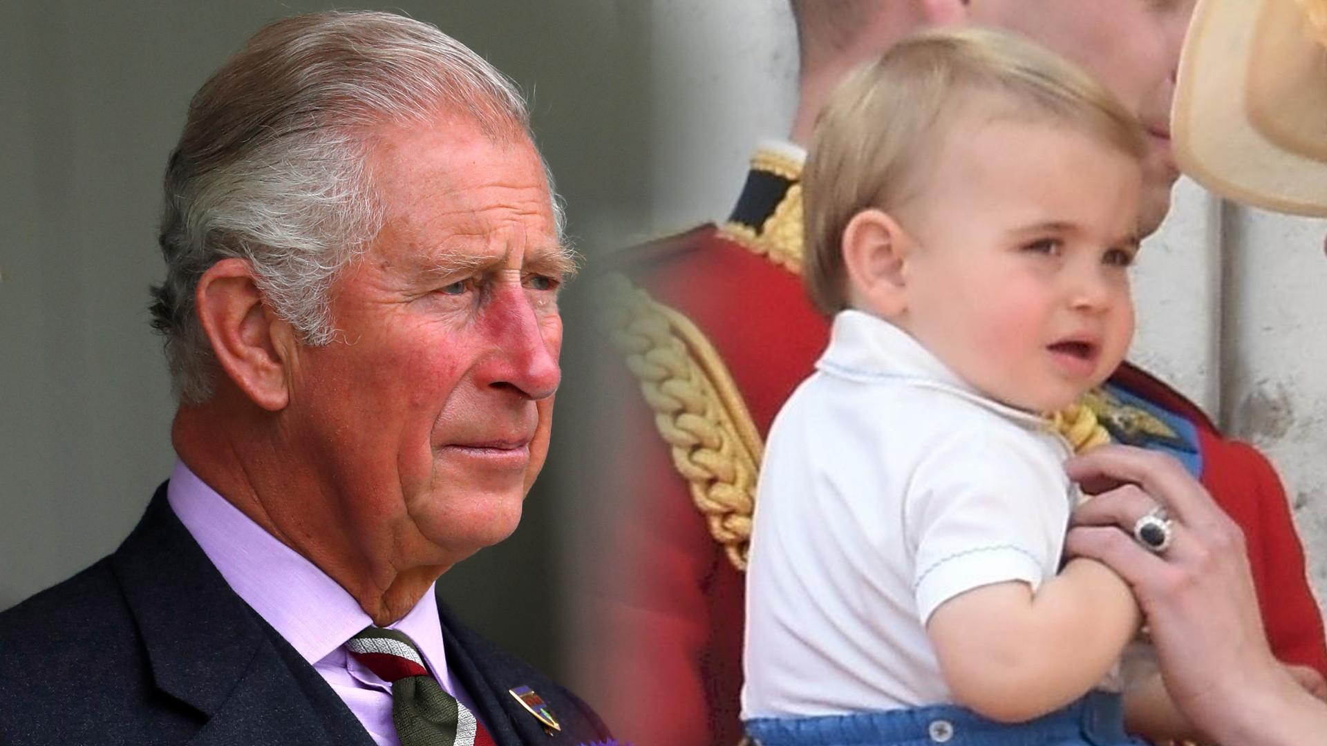 Fani są zachwyceni NOWYM zdjęciem księcia Karola z jego wnukiem Louisem