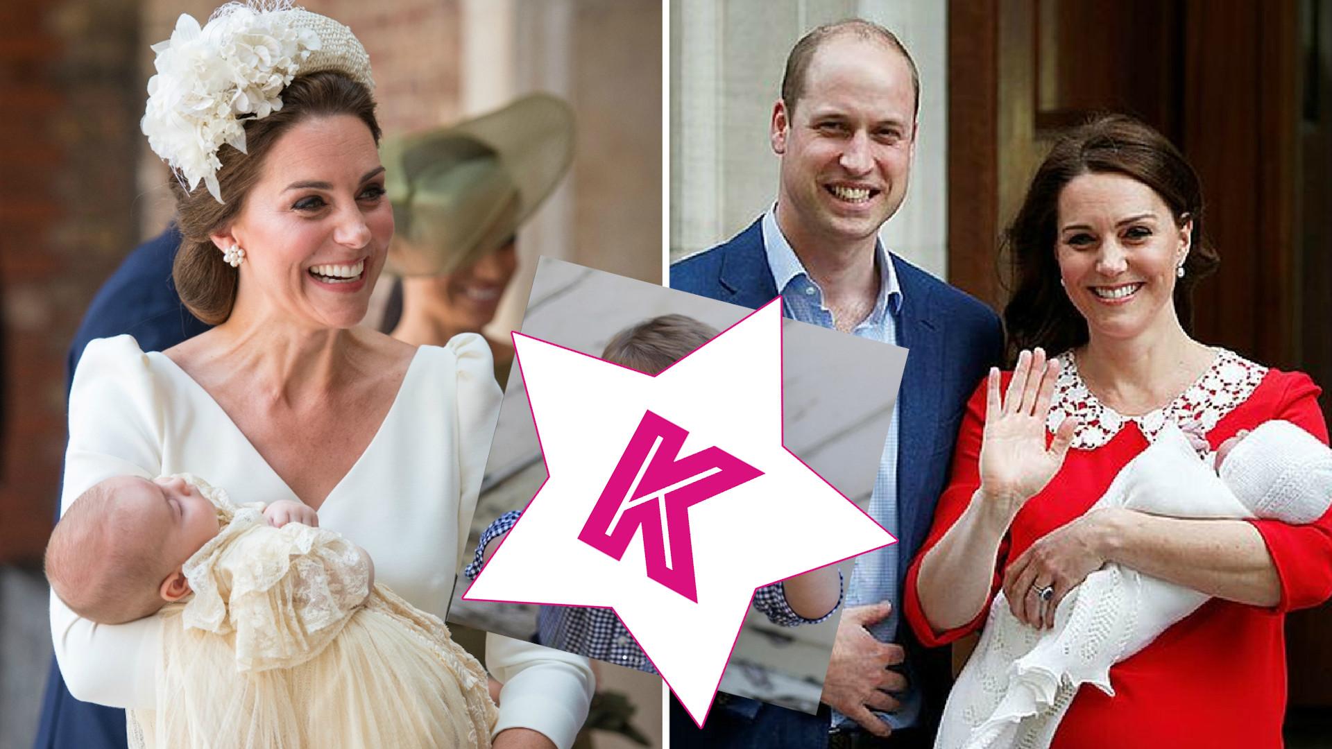 Książę Louis skończył dwa lata! William i Kate udostępnili URODZINOWE zdjęcie syna
