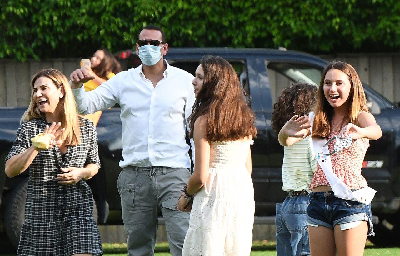 Jennifer Lopez i Alex Rodriguez świętują urodziny córki