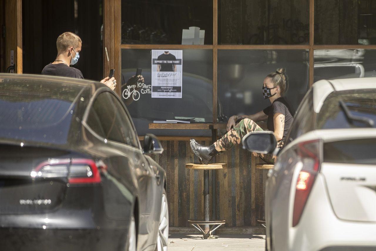Miley Cyrus z Codym Simpsonem na kawie podczas kwarantanny