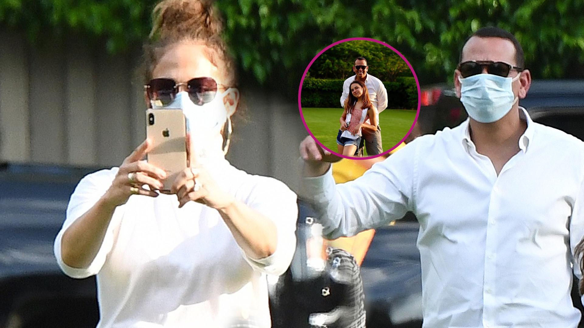 Jennifer Lopez na urodzinach córki rozebrała się DO BIUSTONOSZA