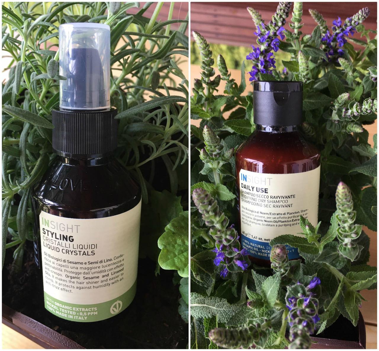 Recenzja kosmetyków do pielęgnacji włosów od marki INSIGHT.