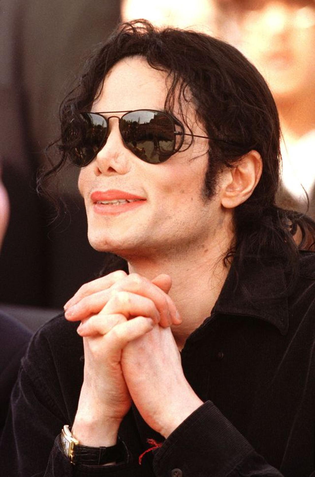 Michael Jackson w czasach świetności.