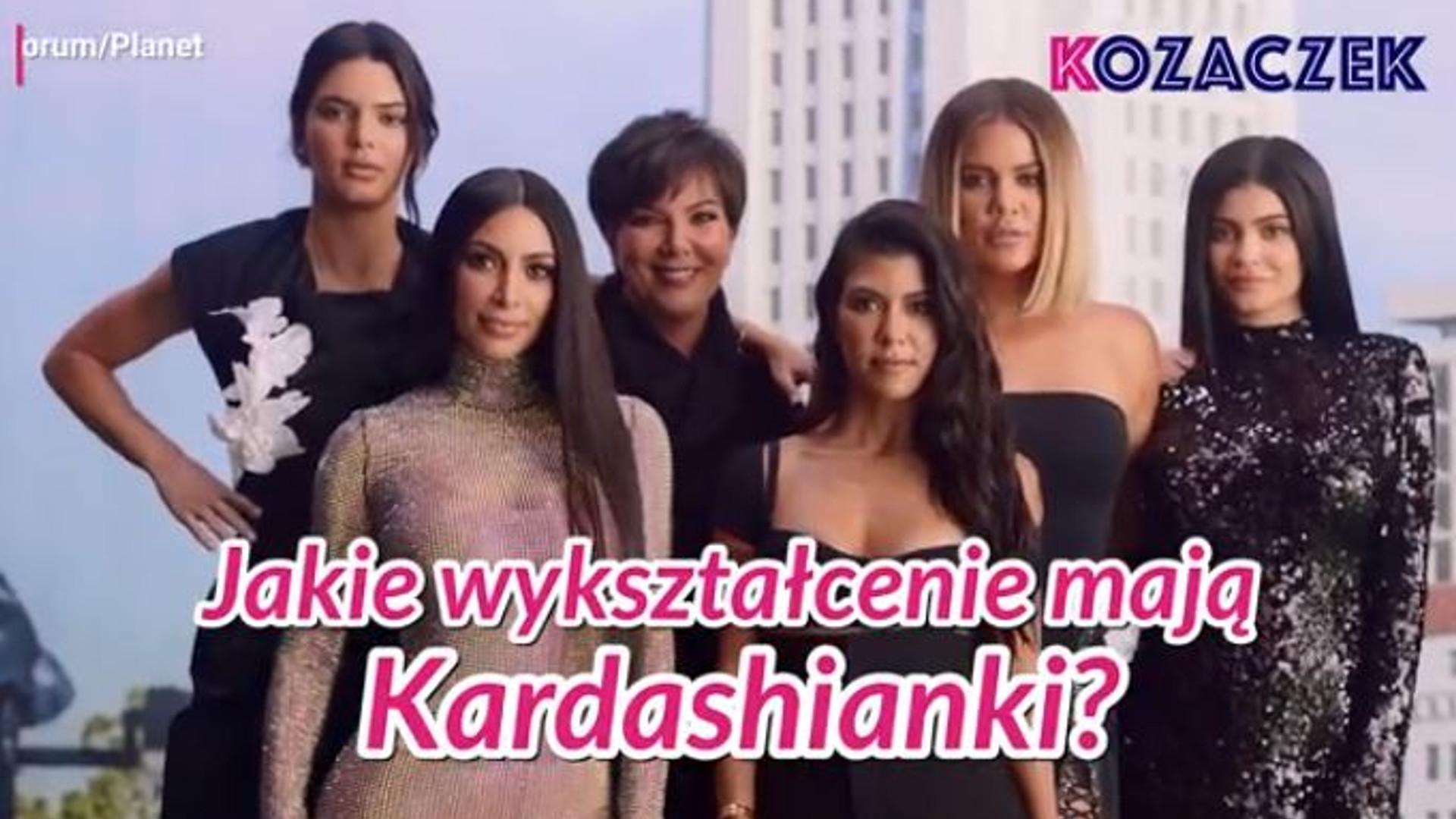 Jakie WYKSZTAŁCENIE mają Kardashianki? Nie uwierzycie, co studiowała Kourtney