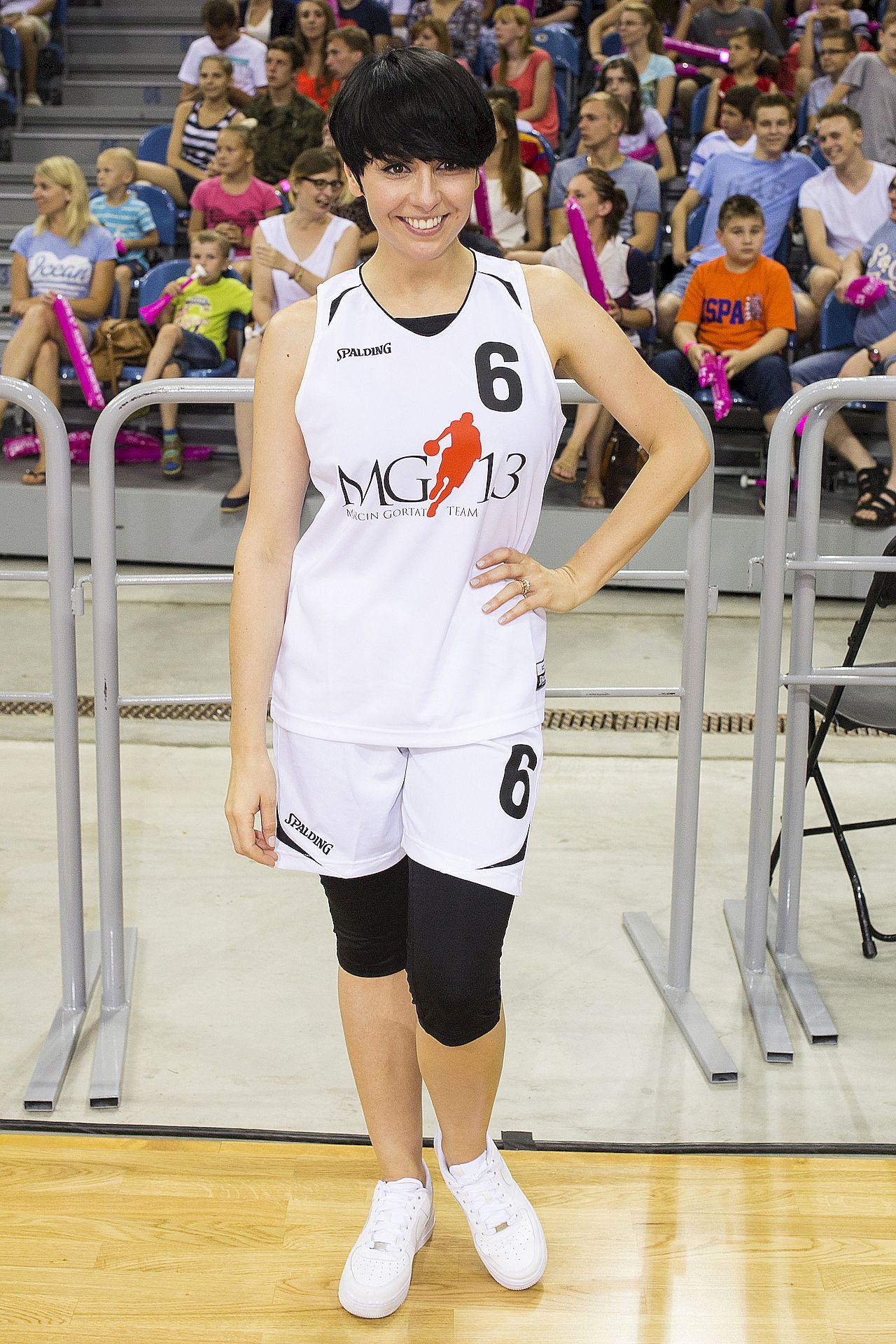 Tatiana Okupnik podczas meczu
