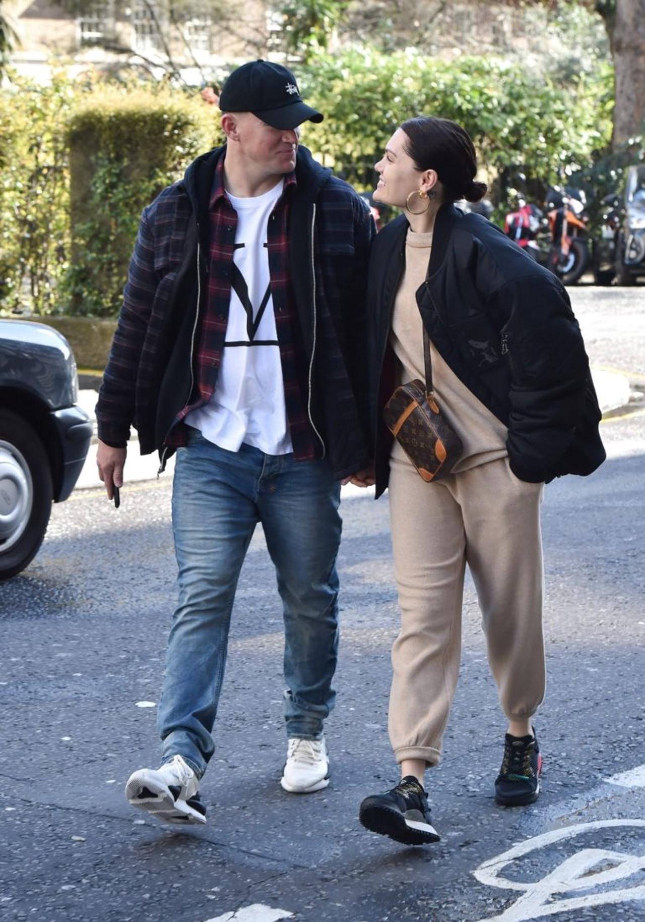 Channing Tatum na spacerze z Jessie J