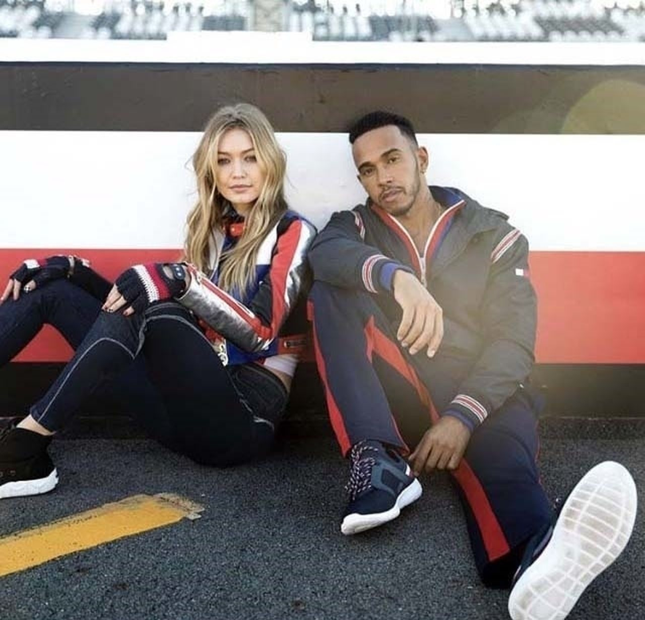 Gigi Hadid i Lewis Hamilton