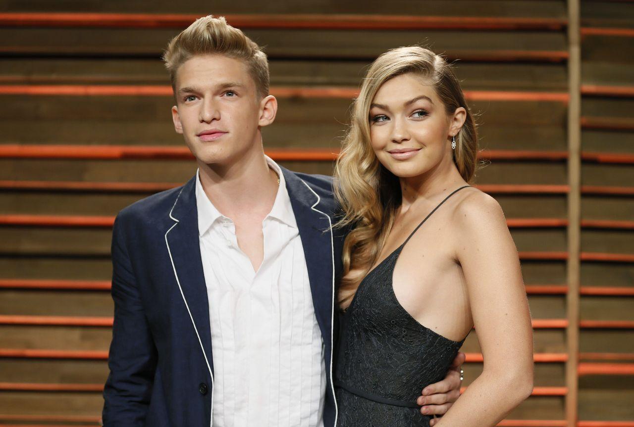 Gigi Hadid ze swoim ówczesnym chłopakiem, Codym Simpsonem