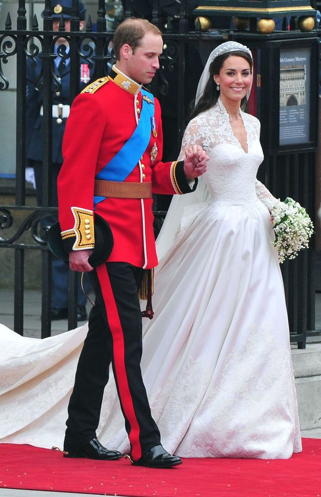 Ślubne zdjęcie księżnej Kate i księcia Williama