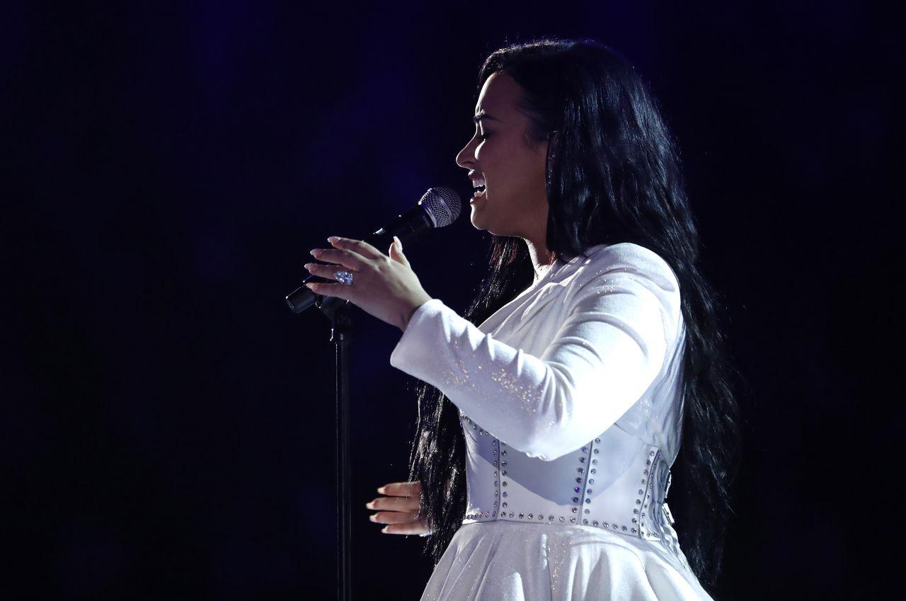 Demi Lovato na scenie