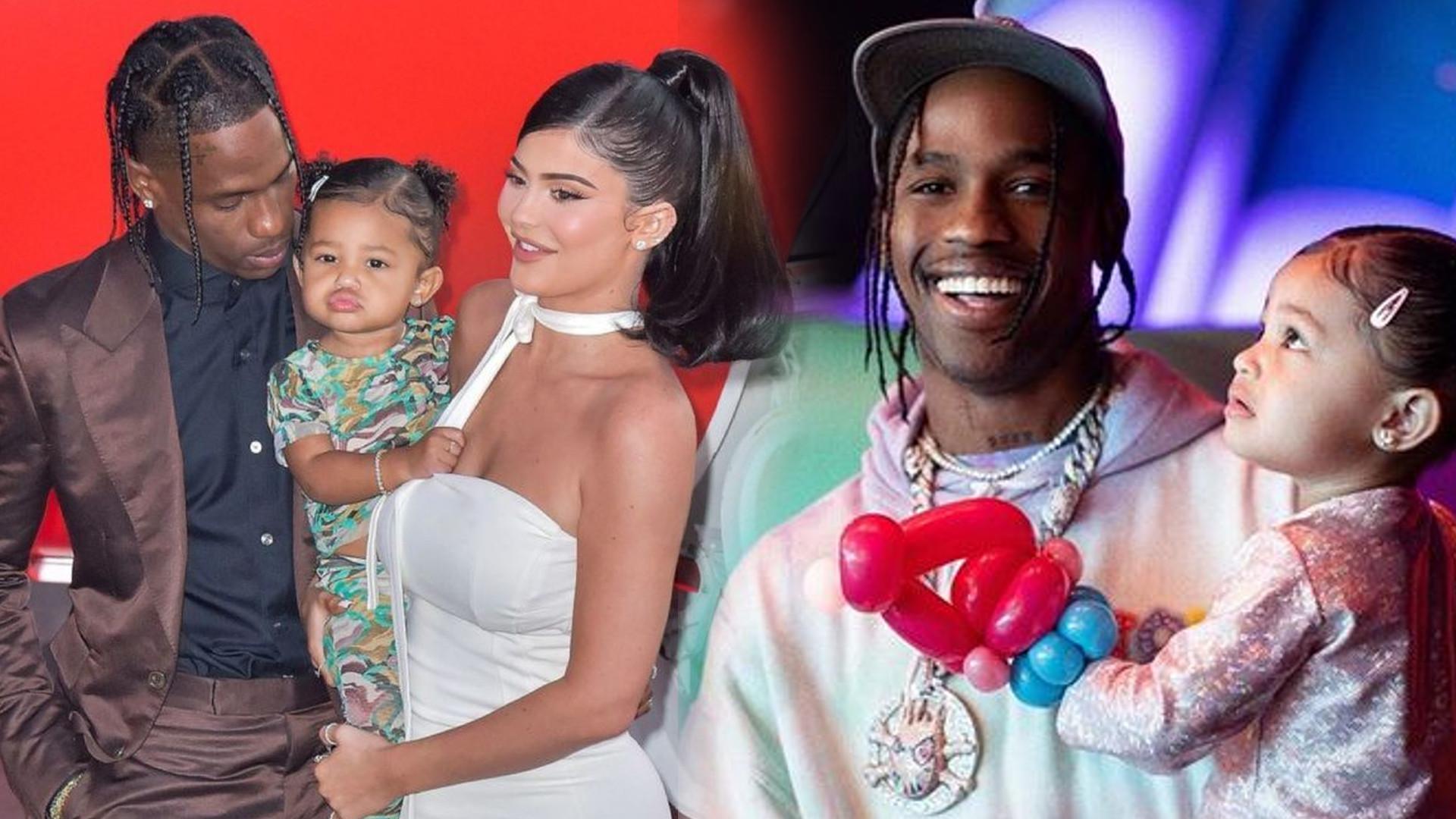 Kylie Jenner wyznała MIŁOŚĆ Travisowi Scottowi na Instagramie. Pokazała niepublikowane zdjęcia, również te z PORODÓWKI