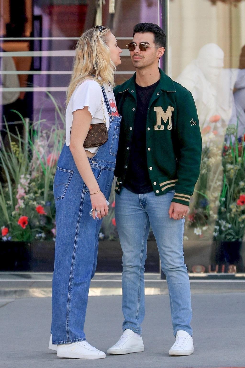 Sophie Turner i Joe Jonas nie mogą się od siebie oderwać.