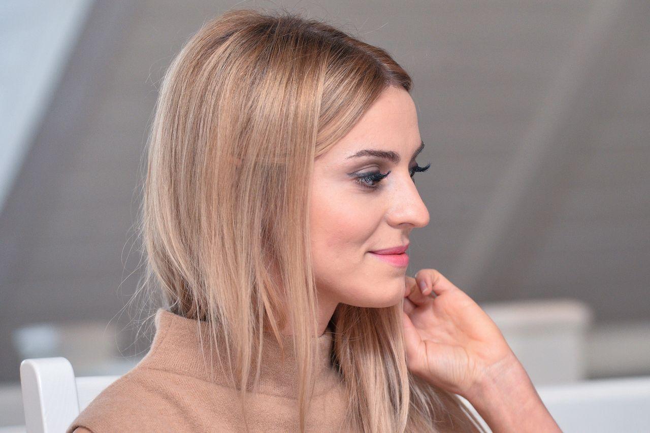 """Sopot 22.10.2015 r. Katarzyna Tusk promująca książkę własnego autorstwa """"Elementarz stylu"""""""