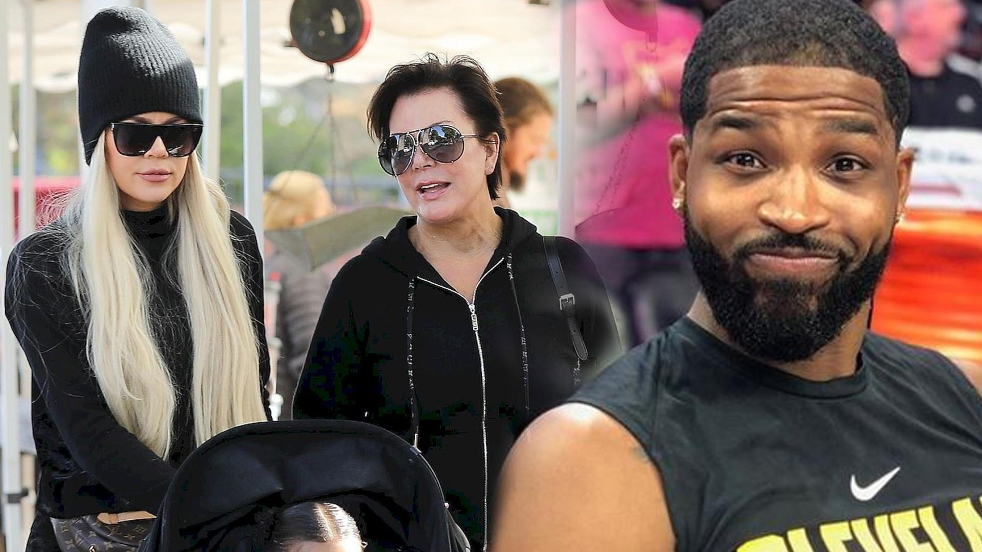 Khloe Kardashian i Tristan Thompson SYPIAJĄ ze sobą podczas kwarantanny? Kris Jenner jest tego pewna