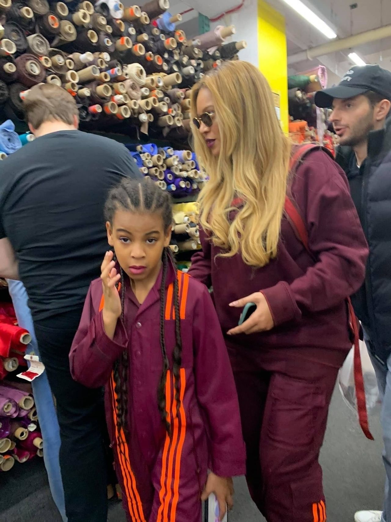 Beyonce z Blue Ivy