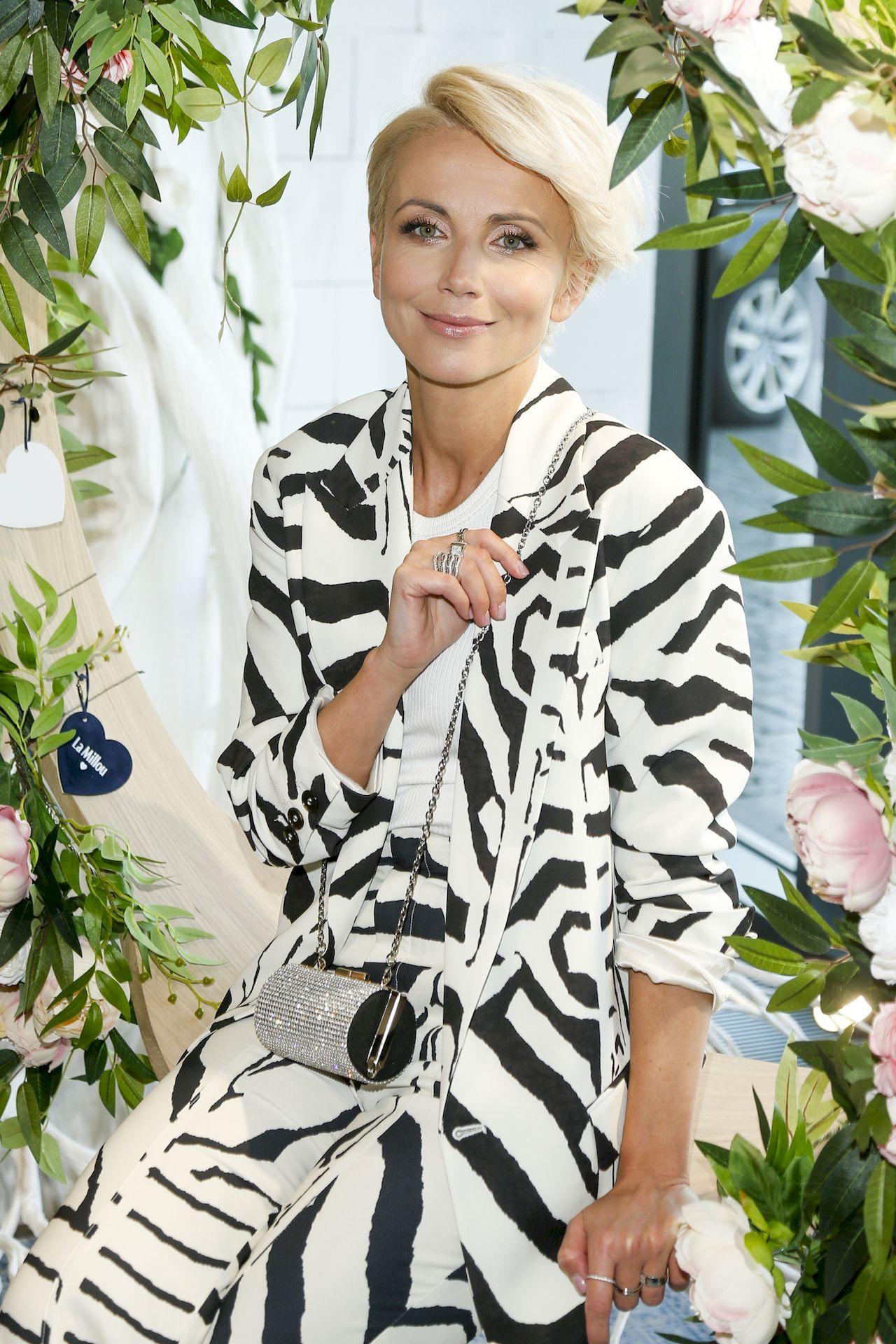 Katarzyna Zielińska w blond włosach